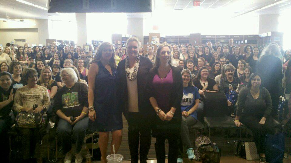 Jamie McGuire, Colleen Hoover, and Tammara Webber oh my!