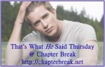 That's what HE said Thursday- September 25, 2014