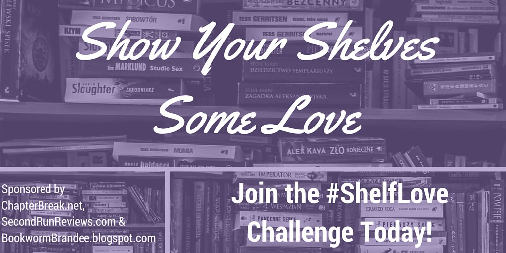 #ShelfLove Challenge Twitter Recruitment Post Image