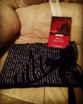 Check out my Dracula-quoting bookish scarf!